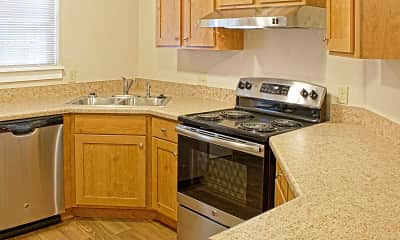 Kitchen, Fairmont Hills Apartments, 1