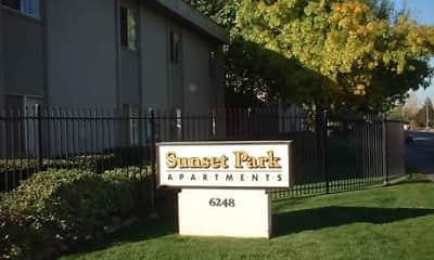 Community Signage, Sunset Park, 0