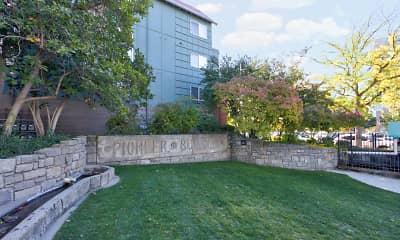 Community Signage, CW Moore Apartments, 2