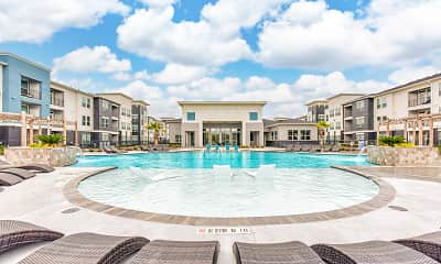 Pool, The Vic at Southwinds Apartments, 1