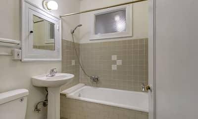 Bathroom, Fionia Apartments, 2