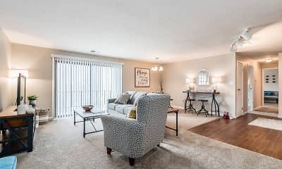 Living Room, Miamiview Apartments, 0