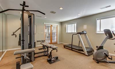 Fitness Weight Room, The Hamptons Of Brownstown, 2