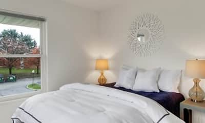 Bedroom, Westgate Apartments, 1