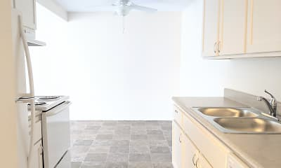 Kitchen, Seasons Park Apartments, 0