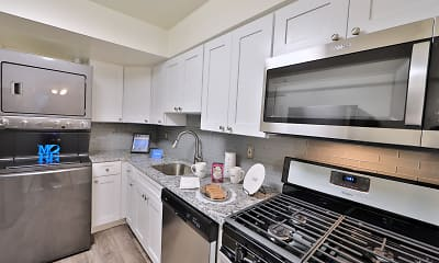Kitchen, Columbia Pointe Apartment Homes, 0