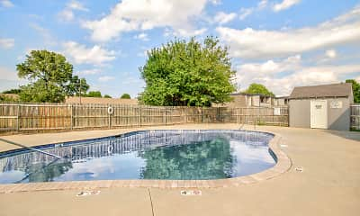 Pool, Timbers North Apartments, 1