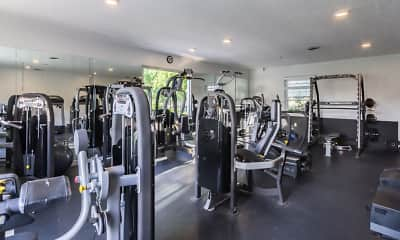 Fitness Weight Room, Governour's Square, 2