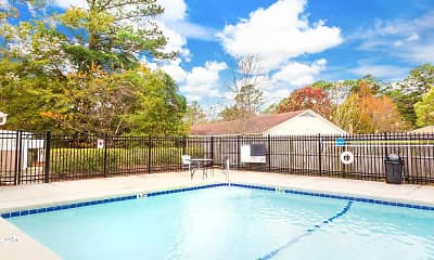 Pool, Harbor Station Townhomes, 2