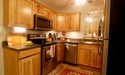 Kitchen, Morganton Arms Apartments, 1