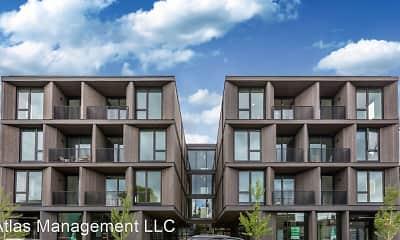 Building, Abernethy Flats Apartments, 2