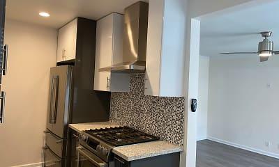 Kitchen, 17th Street Apartments, 1