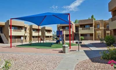 Playground, Papago Crossing, 1
