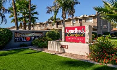 Community Signage, Camelback Courtyard, 2
