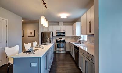 Kitchen, The Elm at Island Creek Village, 1