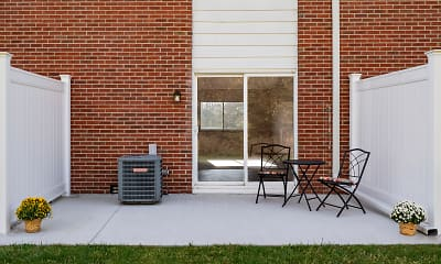 Patio / Deck, Riverview Townhomes, 2