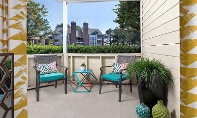 Patio / Deck, Addison At Hampton, 2