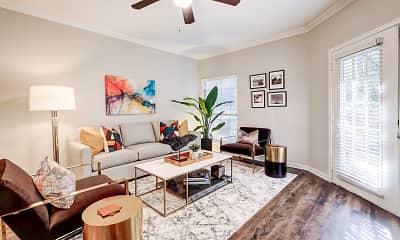 Living Room, Canyon Springs at Bull Creek, 1