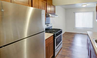 Kitchen, Midtown Park Apartments, 0