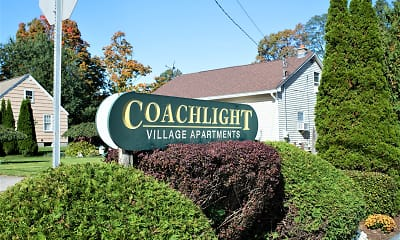 Community Signage, Coachlight Village, 1