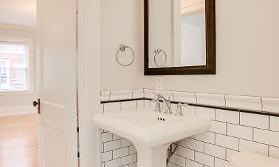 Bathroom, Classic City Apartments, 2