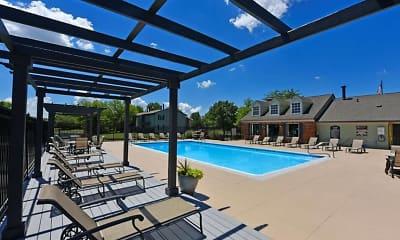Pool, Pavilion Lakes, 1