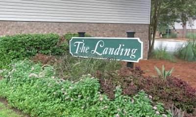 Community Signage, The Landing, 0