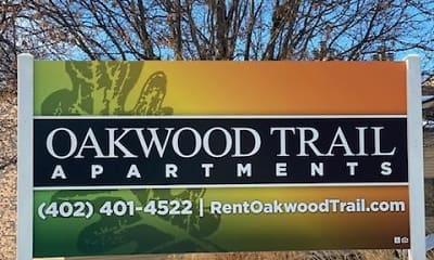 Community Signage, Oakwood Trail, 2