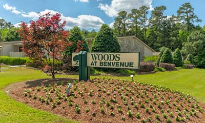 Community Signage, Woods at Benvenue, 2