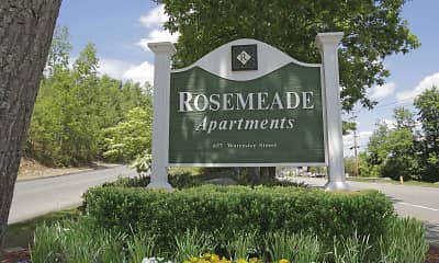 Community Signage, Rosemeade, 2