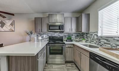 Kitchen, Sunset Hills Apartment Homes, 0