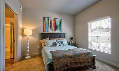 Bedroom, Riverfront Apartments, 1