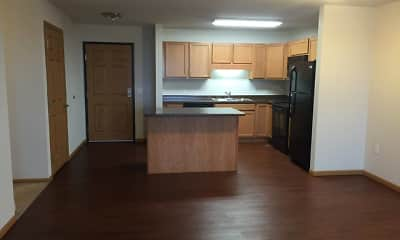 Kitchen, Northern Star Apartments, 1
