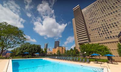 Pool, City View Apartments, 1
