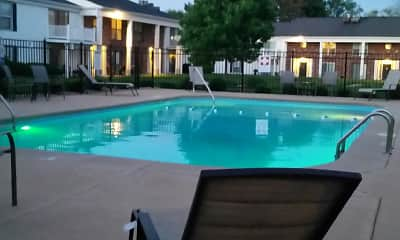 Pool, Colony South Apartments, 2