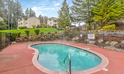 Pool, Griffin Glen II Apartments, 2
