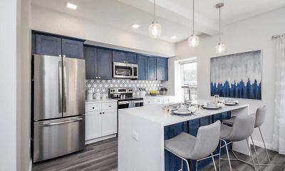 Kitchen, Monroe Ave Apartments, 0