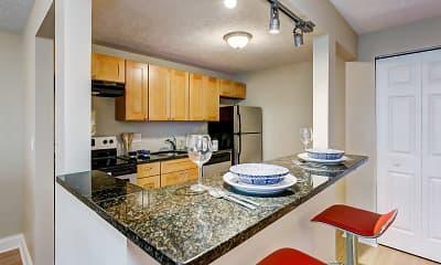Kitchen, The Flats at Fox Hill, 1