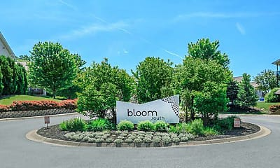 Community Signage, Bloom Apartments, 2
