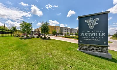 Community Signage, The Villages at Fiskville 55 + Community, 2