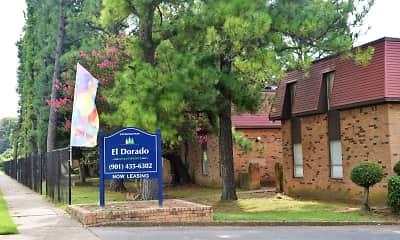 Community Signage, El Dorado Apartments, 0