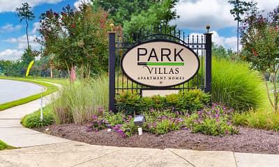 Community Signage, Park Villas, 2