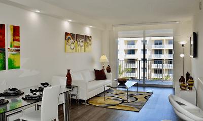 Living Room, Royal Palms, 0