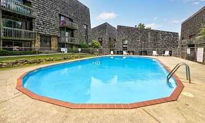 Pool, Terra Trace Apartments, 1