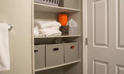 Bathroom, Evergreen Apartments, 2