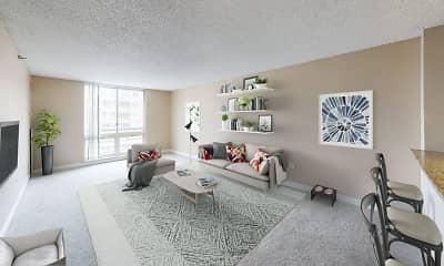 Living Room, 300 East Seventeenth, 0