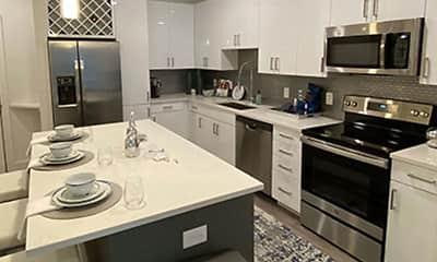 Kitchen, Allure on Parkway, 2