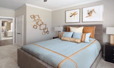 Bedroom, Turtlecreek Apartments, 2