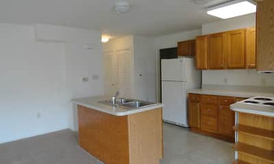 Kitchen, Kissel Hill Apartments, 1