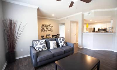 Living Room, The Enclave At Stonebrook, 2